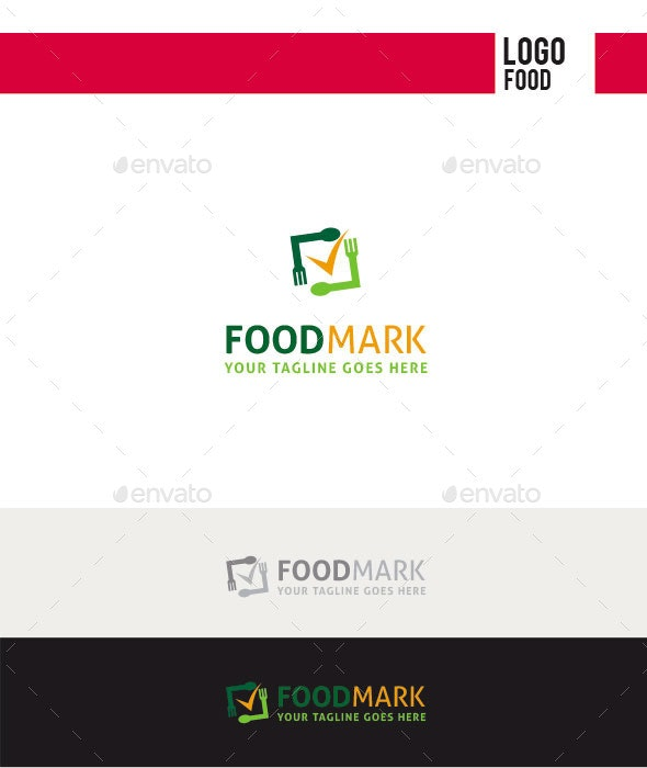 Food Mark Logo - Food Logo Templates