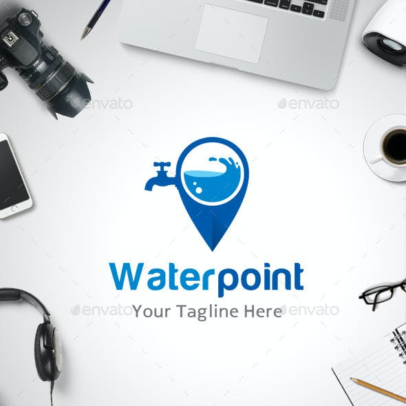 Water Point Location Logo