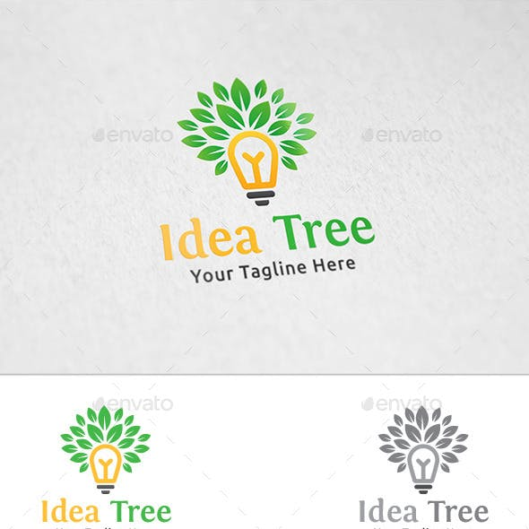 Idea Tree - Logo Template