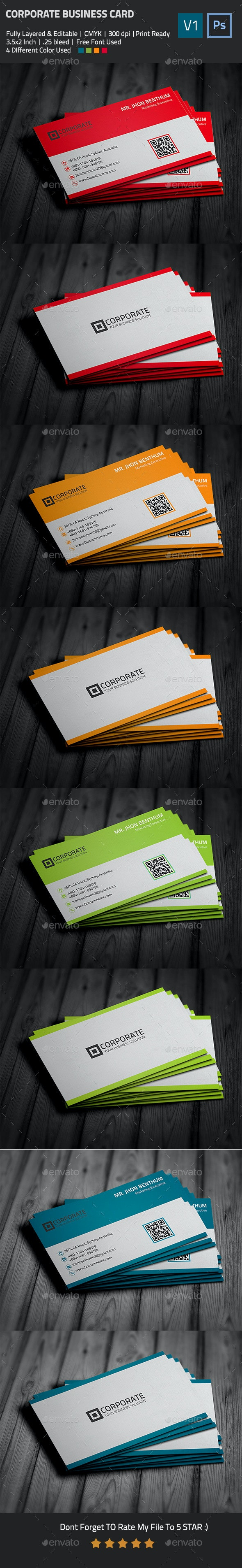 Simple Business Card - Business Cards Print Templates