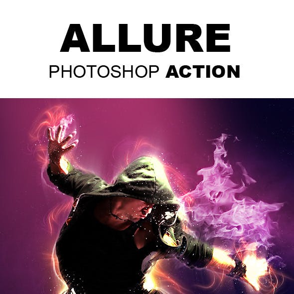 Allure Photoshop Action