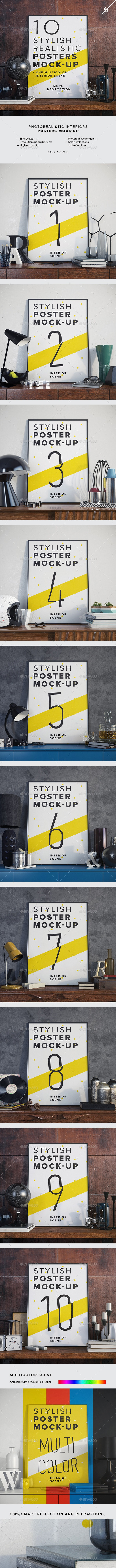 Posters Mock-up - Posters Print
