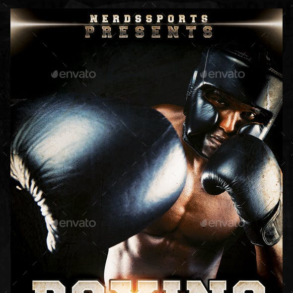Boxing Day Sports Flyer