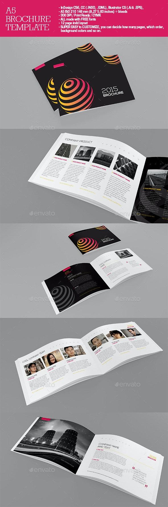A5 Brochure - Brochures Print Templates