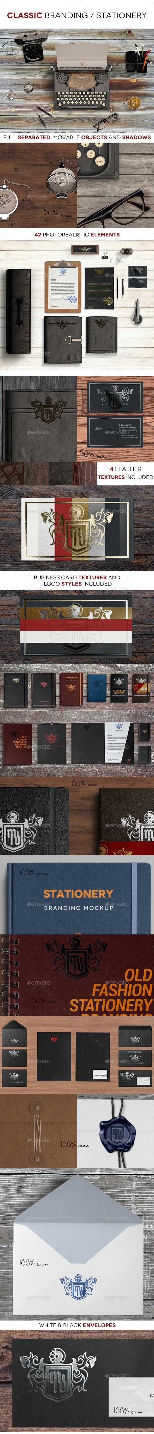 Classic Branding / Stationery - Stationery Print