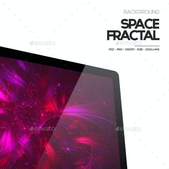 12 Fractal Space Backgrounds V.1