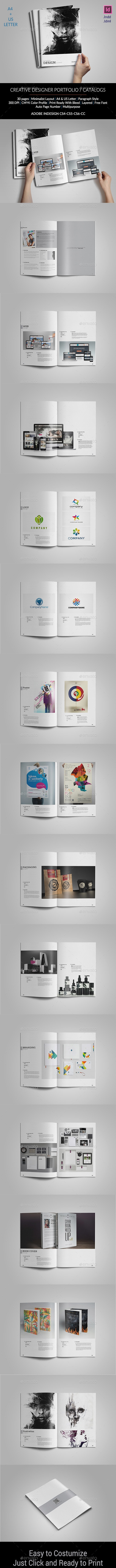 Creative Designer Portfolio - Portfolio Brochures