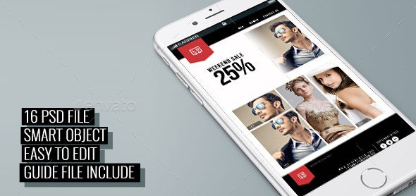 ECET - ECommerce Multipurpose Email/News Templates - E-newsletters Web Elements
