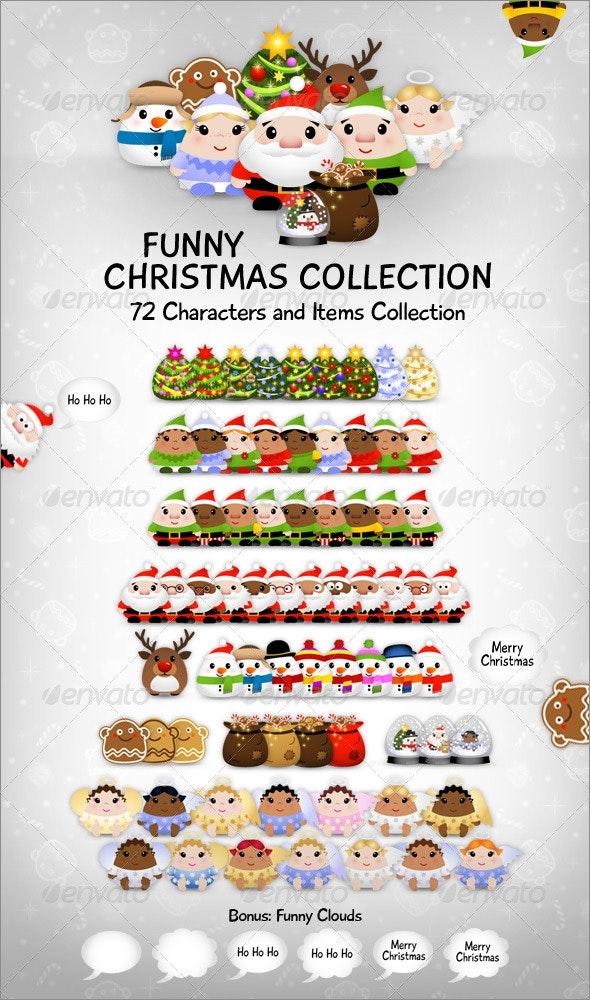 Funny Christmas Collection - Christmas Seasons/Holidays