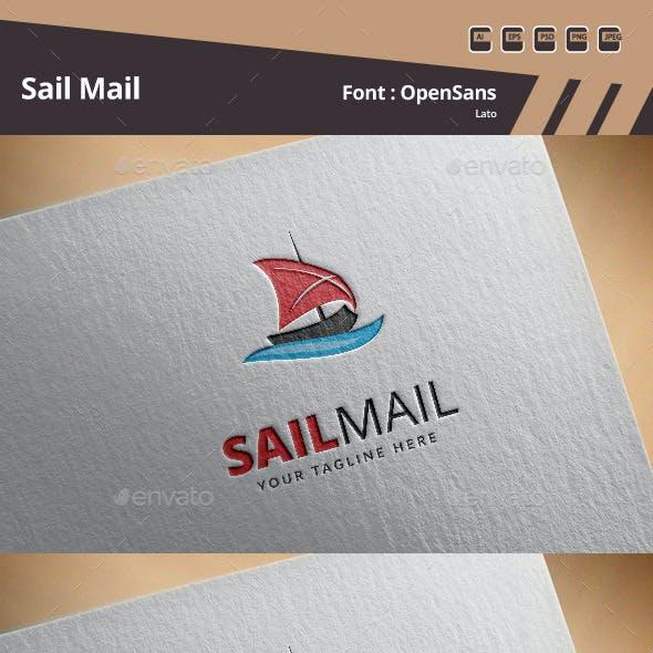 Sail Mail Logo Template