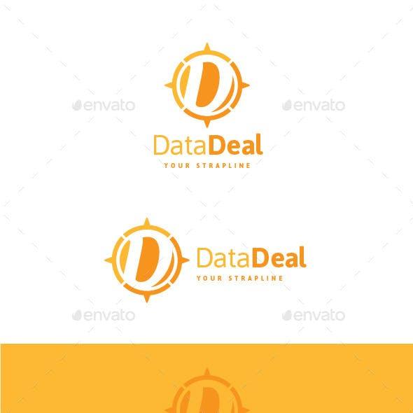 Data Deal Letter D Logo