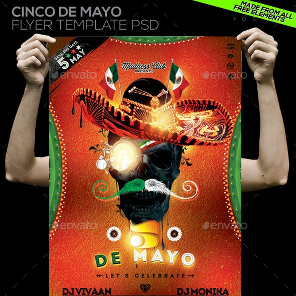 Cinco de Mayo Flyer / Poster