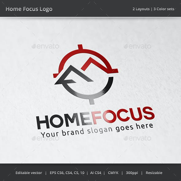 Home Focus Real Estate Logo