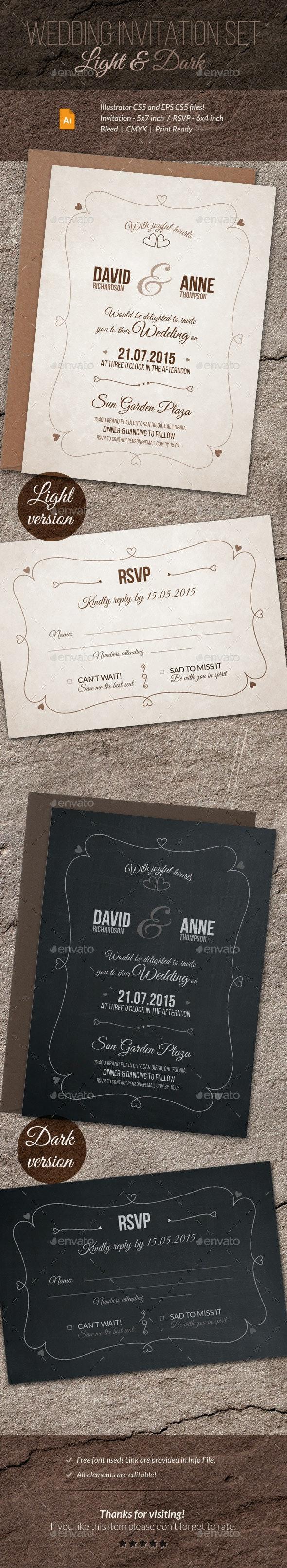 Wedding Invitation and RSVP - Weddings Cards & Invites