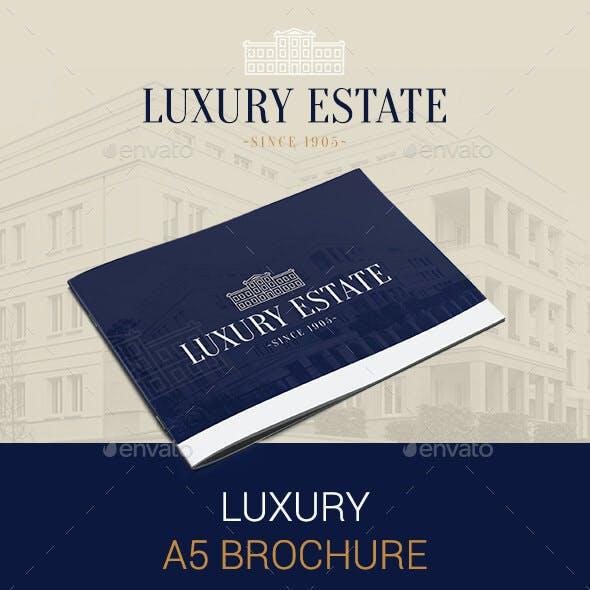 Luxury A5 Brochure