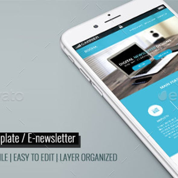 Corporate Email Template / E-newsletter