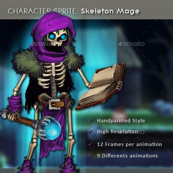 Character Sprite: Skeleton Mage