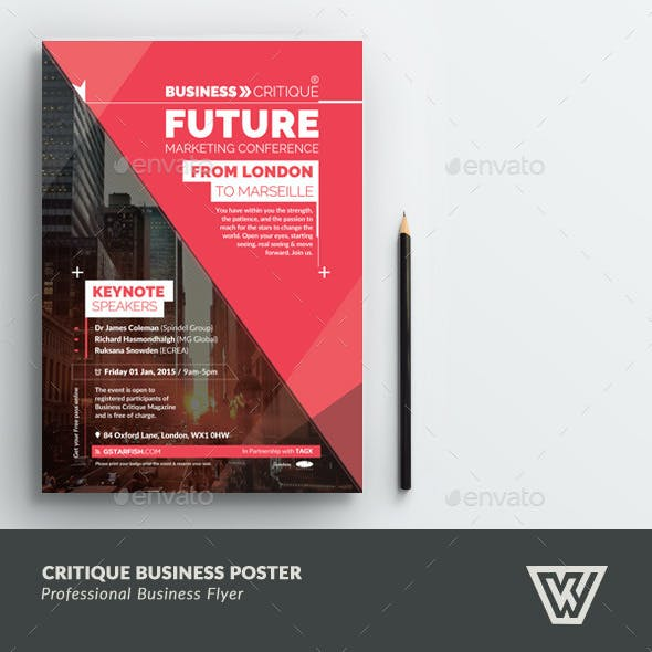 Corporate Business Poster / Flyer