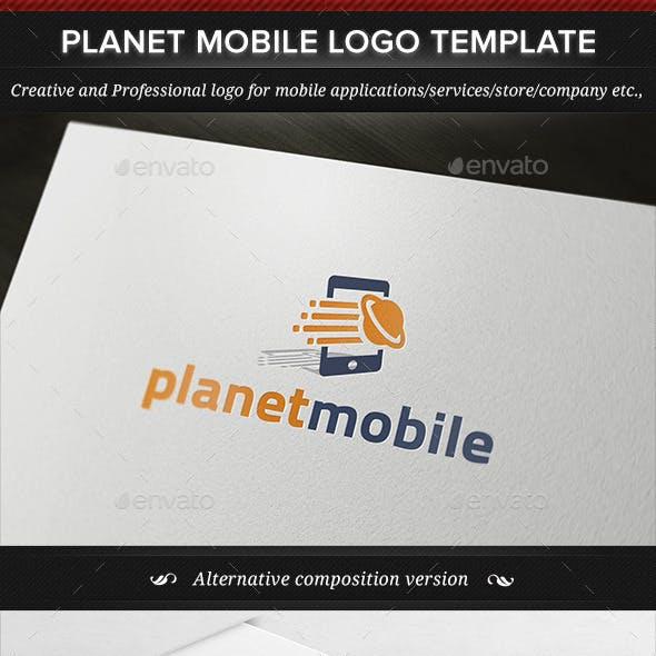 Planet Mobile Logo Template