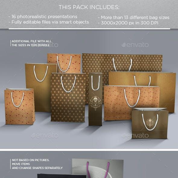 Bags Mockups Bundle