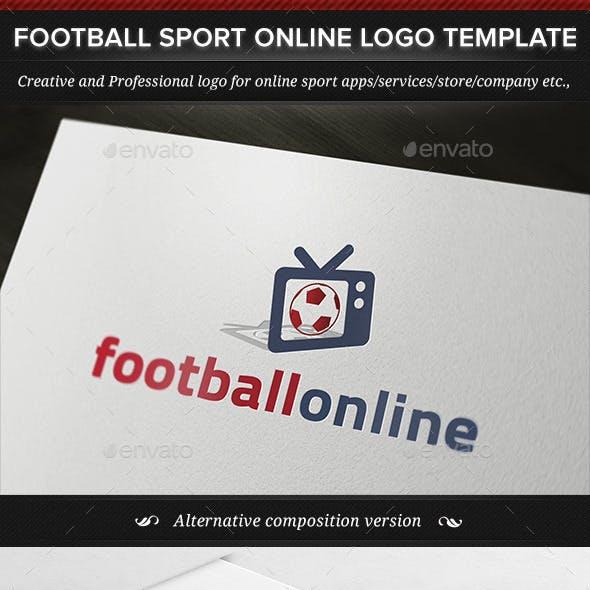 Football Sport Online Logo Template