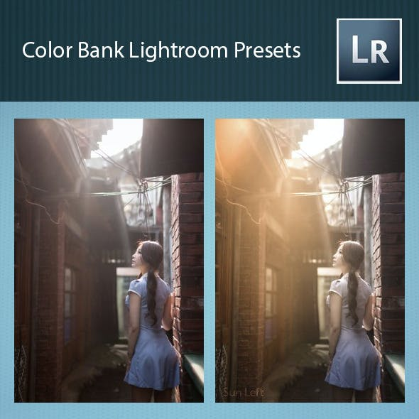 Color Bank Lightroom Presets