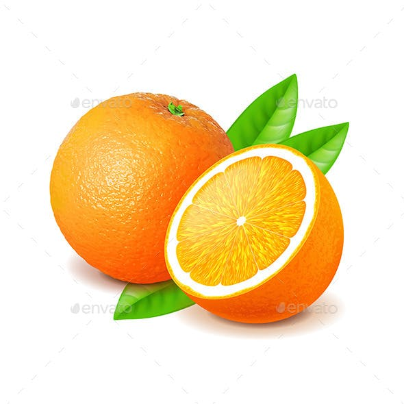 Orange and Slice