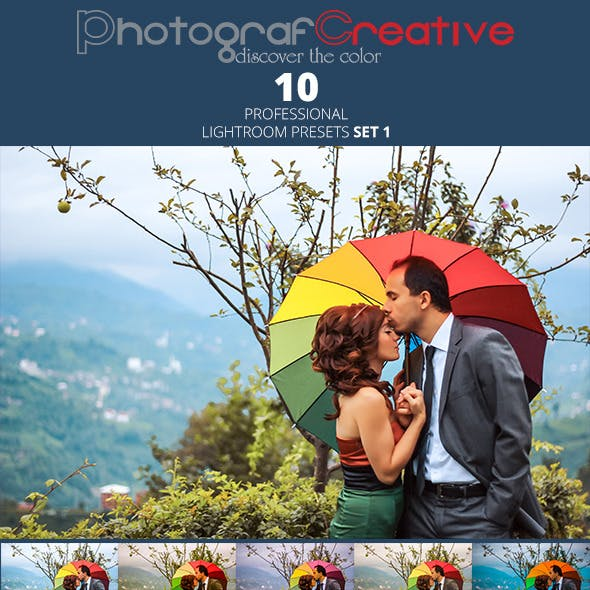 Professional Lightroom Presets Set 1