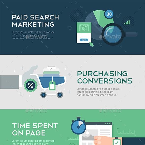 Online Marketing and Conversion Banners
