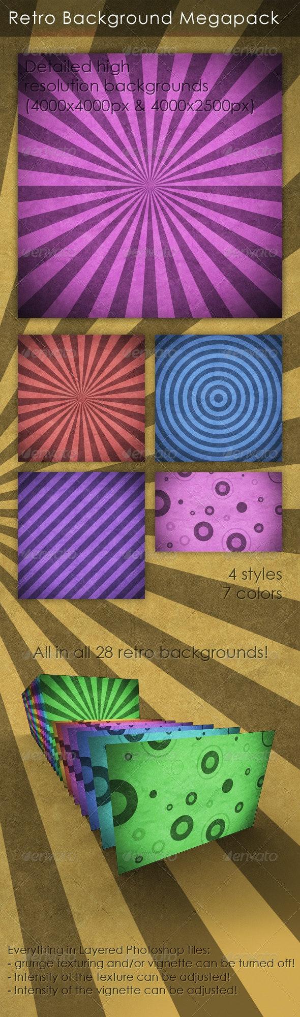 Retro / Vintage Background - Miscellaneous Backgrounds
