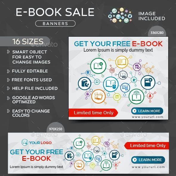 E-Book Sale Banners
