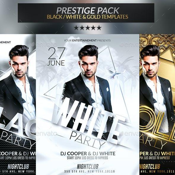 Prestige Pack | Psd Flyer Templates