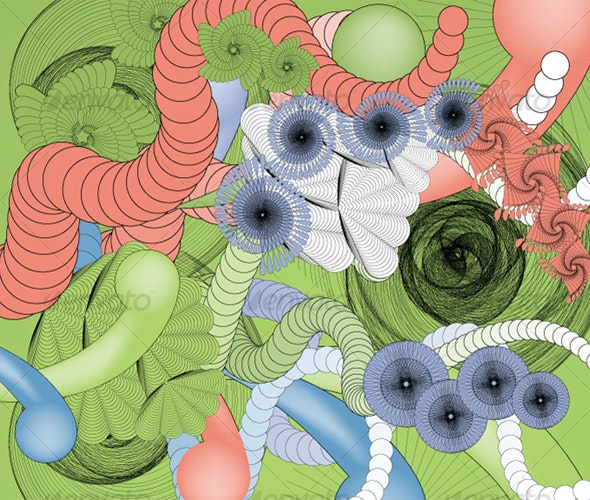 Flourish Spiro 4 - Flourishes / Swirls Decorative