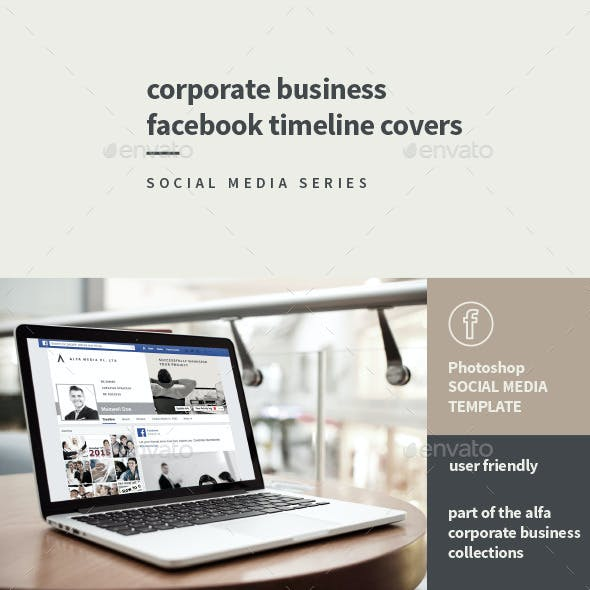 Corporate Business Facebook Timeline Covers
