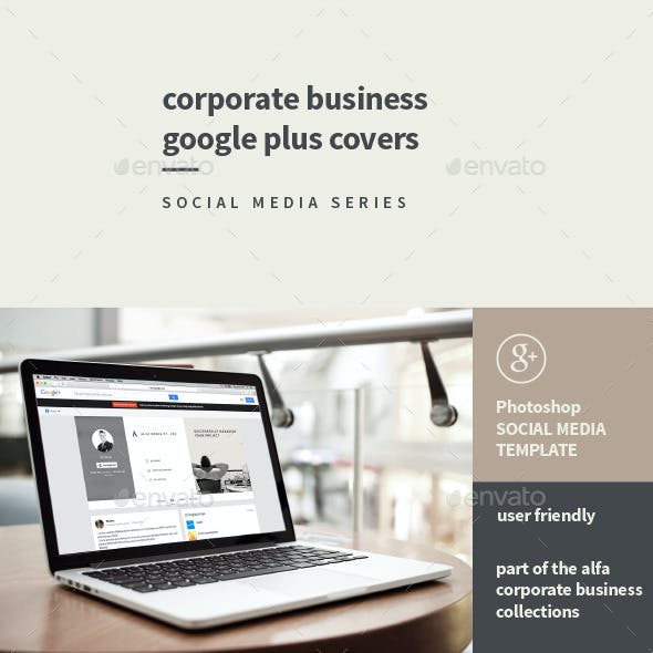 Corporate Business Google Plus Covers