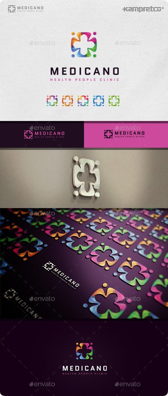 Check Medical logo - 3d Abstract