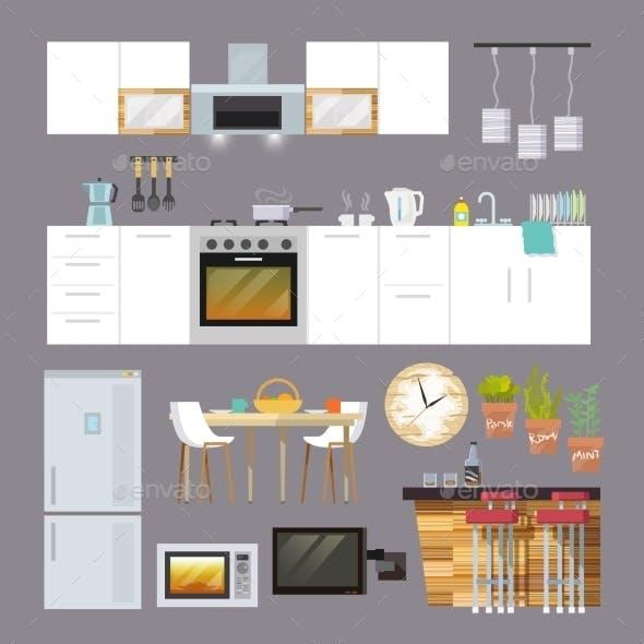 Kitchen Furniture Flat