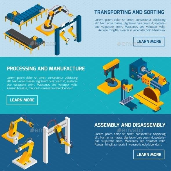 Isometric Robotic Banners
