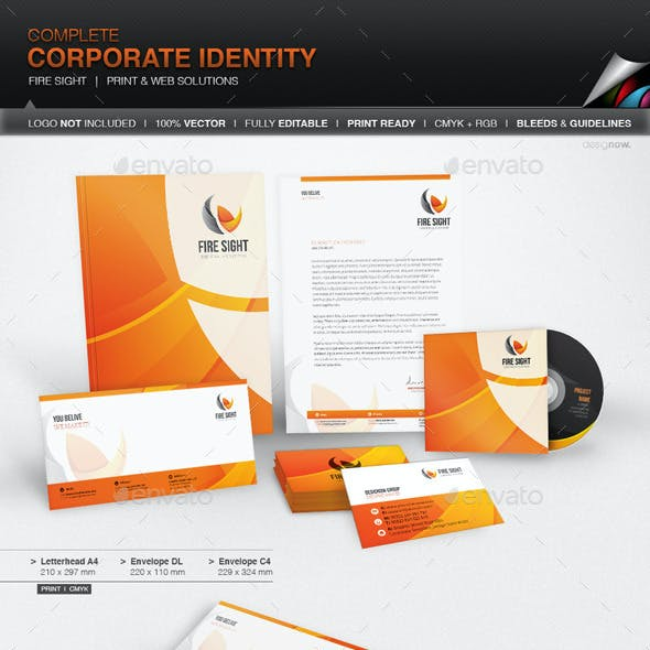 Corporate Identity - Fire Sight