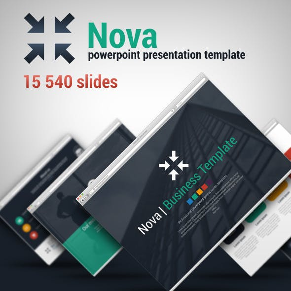 Nova Powerpoint Presentation Template