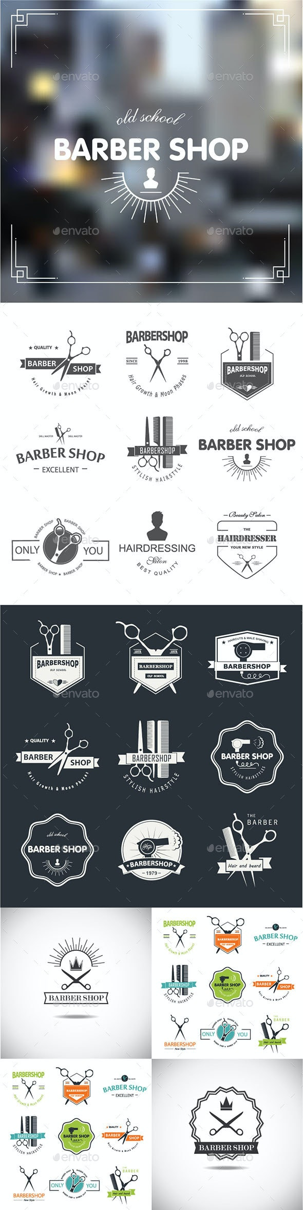Barbershop - Decorative Symbols Decorative