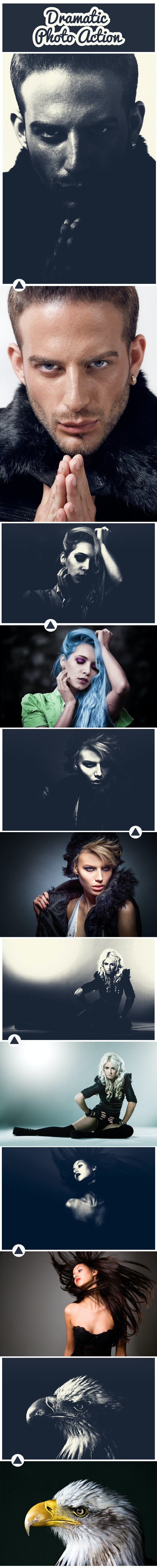 Dramatic Photo Action - Photo Effects Actions