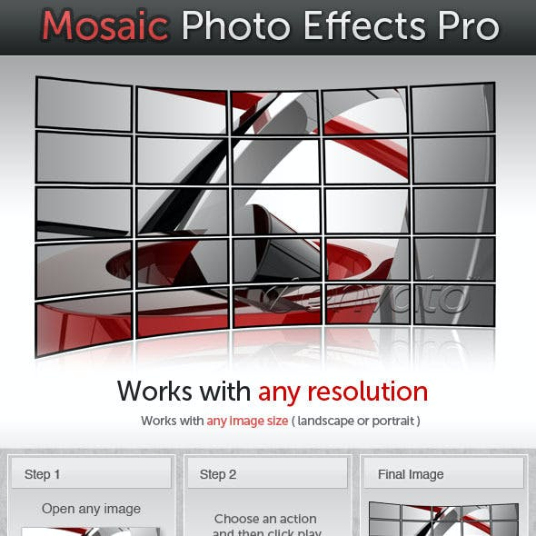 Mosaic Photo Effects Pro