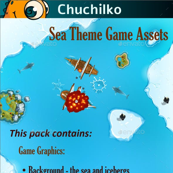 Sea Theme Game Assets