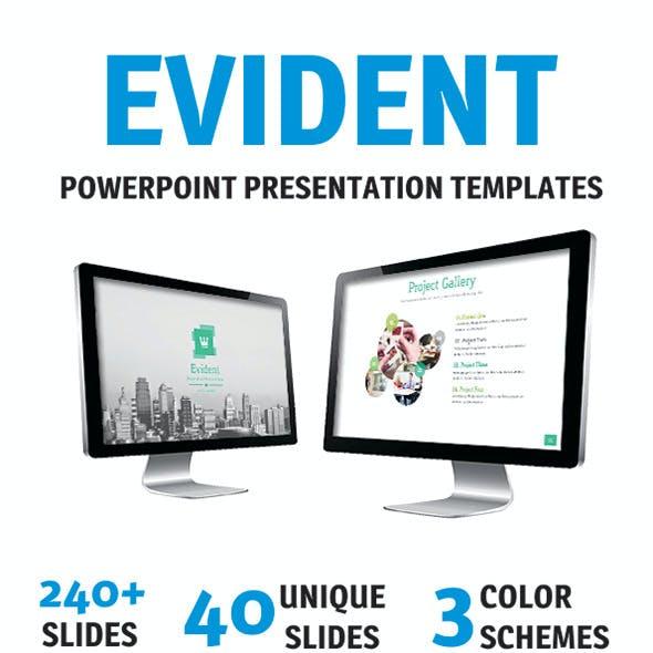 Envident PowerPoint Template
