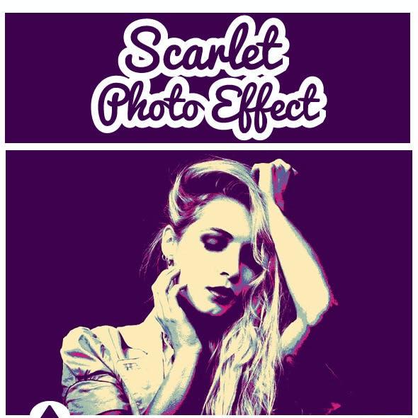 Scarlet Photo Effect