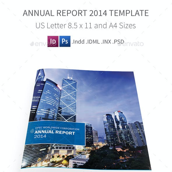 Annual Report 2014 Template