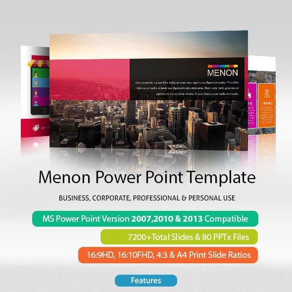 Menon Power Point Presentation