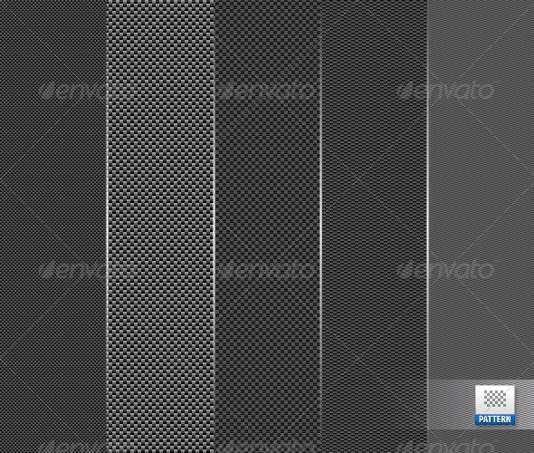 Carbon Fiber/Fibre Tileable Textures - Miscellaneous Textures