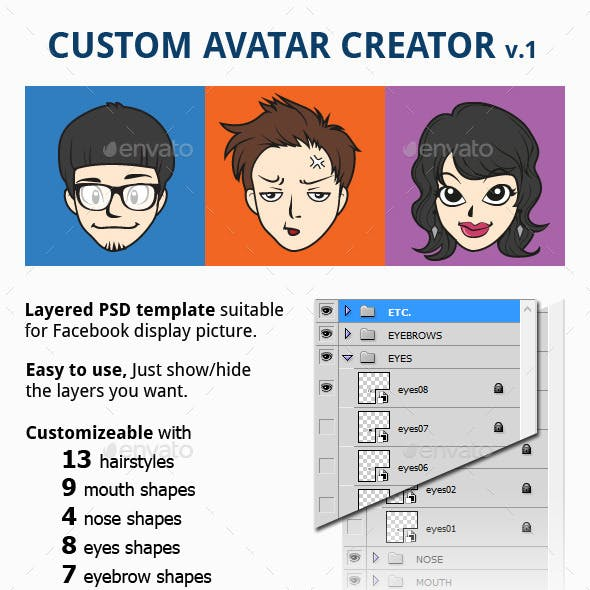 Custom Avatar Creator